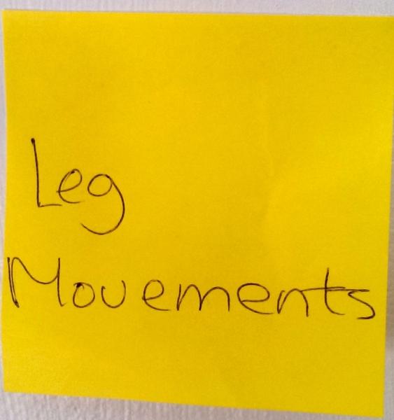 Leg movements