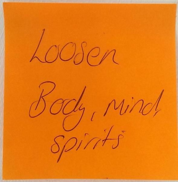 Loosen Body, mind, spirits