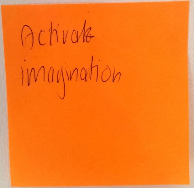 Activate imagination