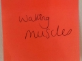 Waking muscles