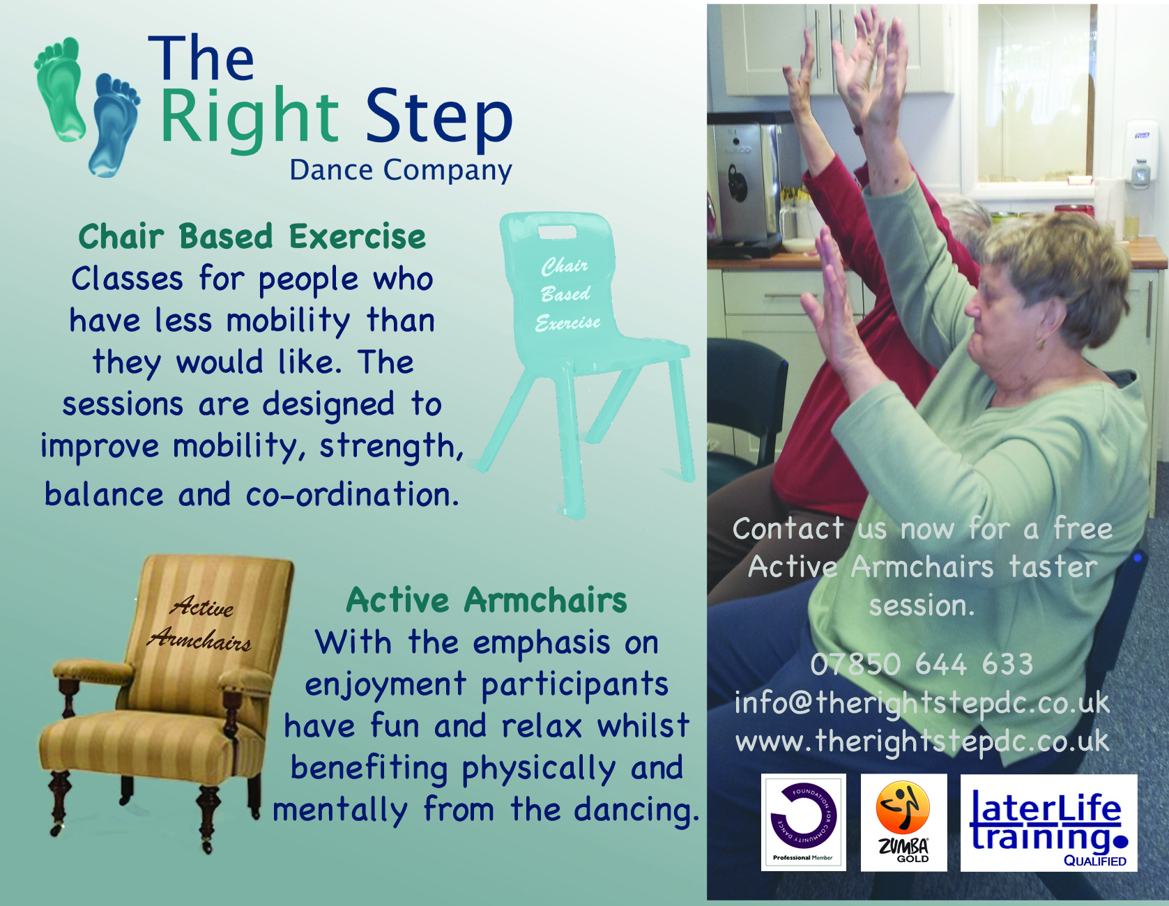 Dance and Exercise for Older Adults