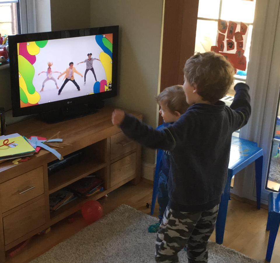 TV dancing