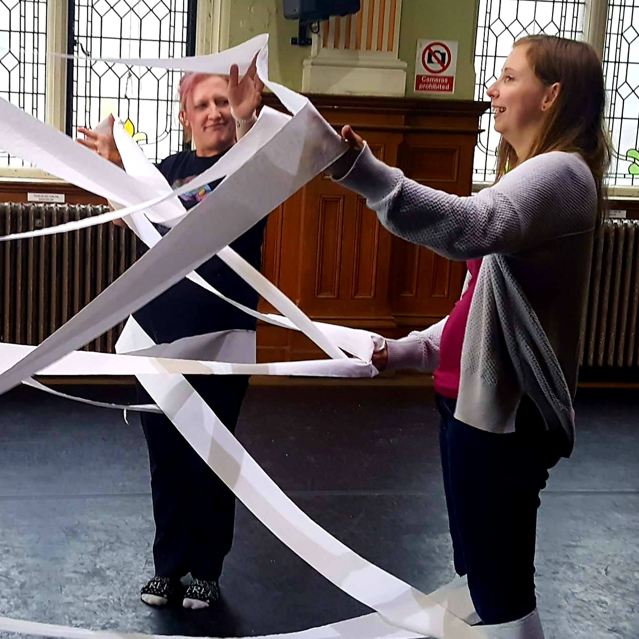 Sq Loo Roll Right Step Dance Props Training
