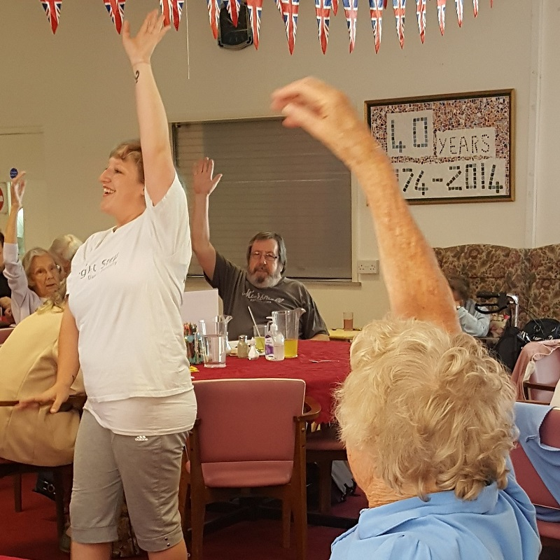 SQ Gillingham Age UK Active Armchairs Georgie