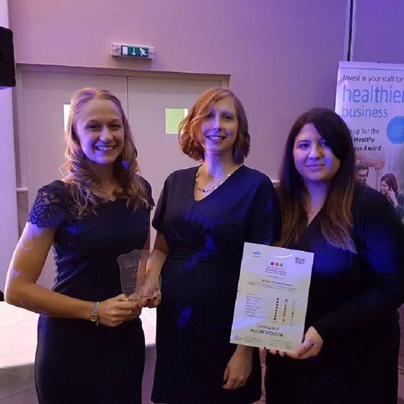 SQ Rebecca Ashton Right Step Award Winning Healthy Business