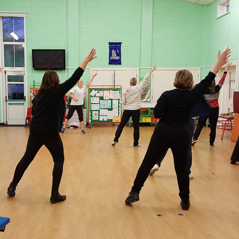 SQ Balfour Infants Staff Training dance cpd fitness