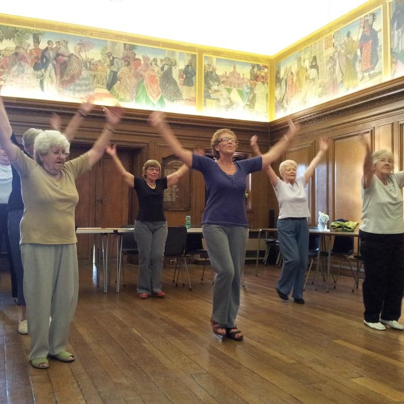 SQ Foord Fillies Social Dance low impact retirement