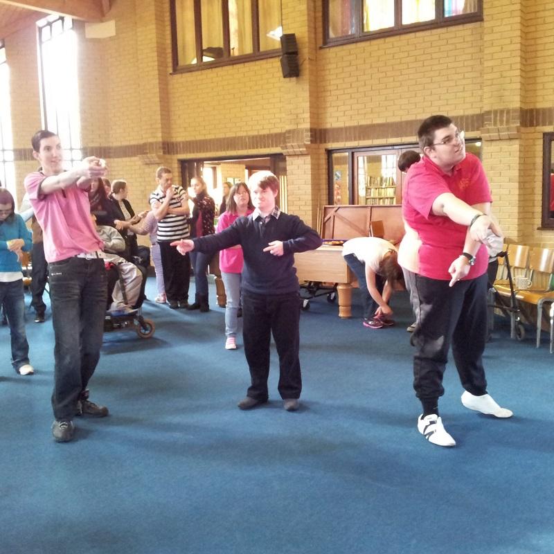 SQ MAPS inclusive dance TRS right step