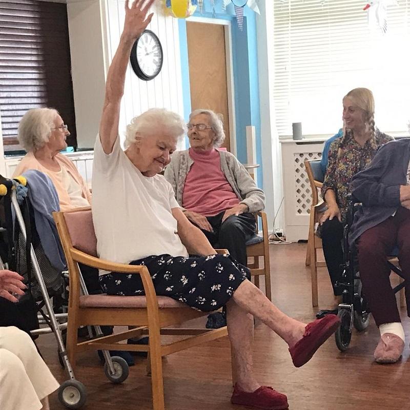 SQ Enhance Project Right Step Kent University Active Armchairs joy
